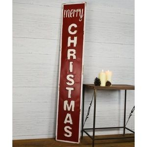 NWT Merry Christmas' Tin Wall Sign